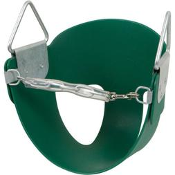 Highback Half Bucket Seat, Green, with SSS logo Sticker