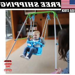 Sportspower Indoor/Outdoor My First Toddler Swing Foldable F