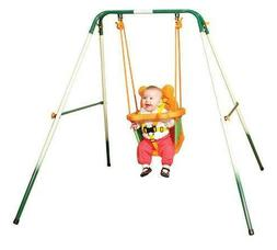 Sports Power Indoor Outdoor Toddler Folding Swing Set! Baby