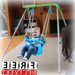 Kid Swing Set Toddler Baby Indoor Outdoor Playground Backyar