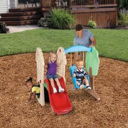 Kids Swing Set Slide Playground Play Center Toddler Baby Ind