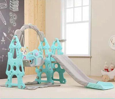 4 in Slide and Swing with Climber