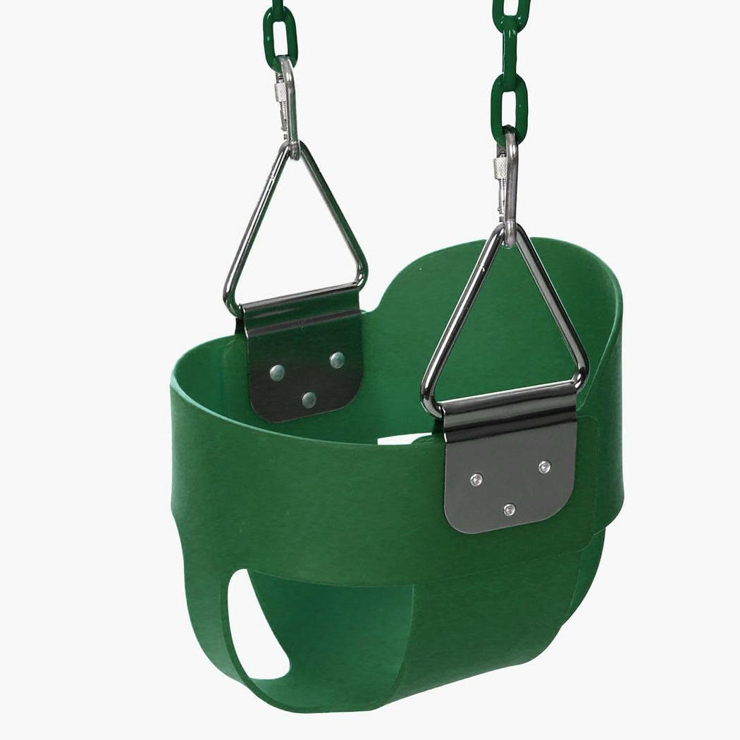 Full Bucket for Baby Playground Outdoors Green