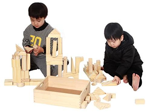 MOD Complete Extra Large Size - 64 Piece Set Children's Wood