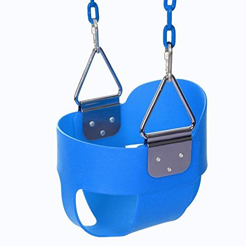 back bucket toddler swing seat