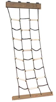 Cargo Climbing Net New Ladder Rope Tree-House Swing Set Outs