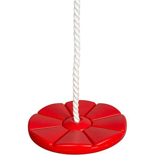 Swing Set Stuff Daisy Disc Swing Seat With Rope  With SSS Lo