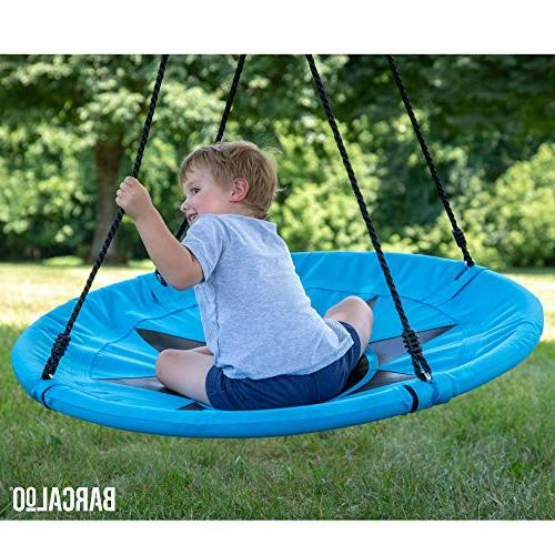 """Barcaloo 40"""" Flying Tree Swing - Blue, 600 Fully Assembled,"""