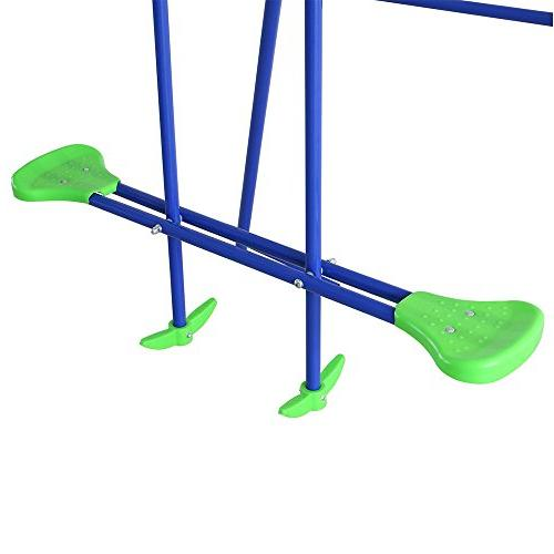 HLC Childrens Folding Swing with 2 Baby Best Birthday