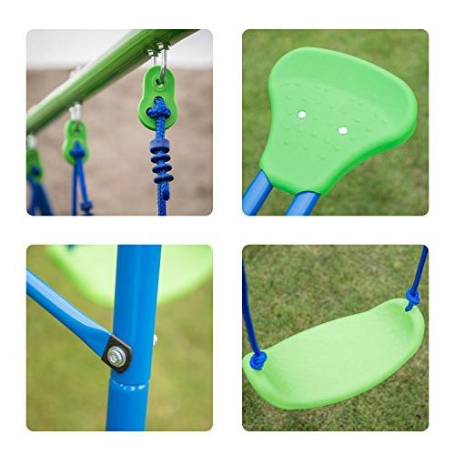 Kinbor Set for with Swings Outdoor Playset