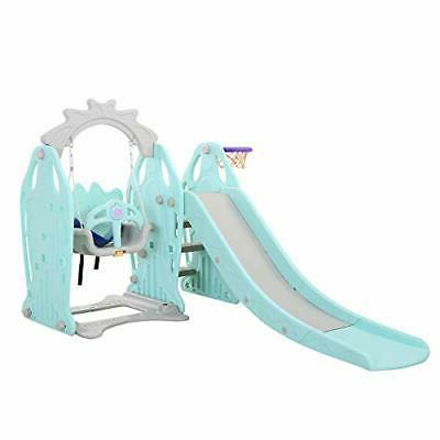Genivation First For Play Swing Slide Ind