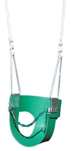 Creative Playthings Half Bucket Swing with Rope