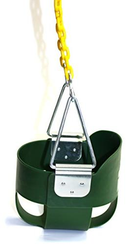 Eastern Jungle Gym High Back Toddler Swing with Assembled