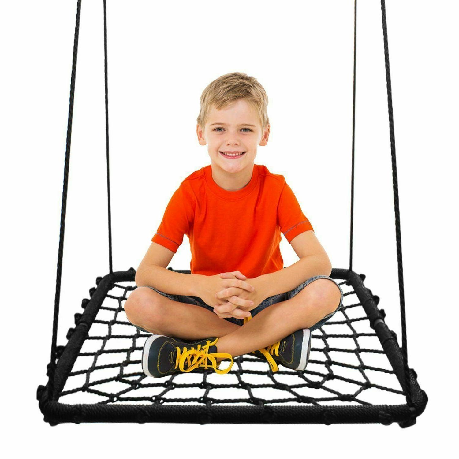 inches platform swing spin set