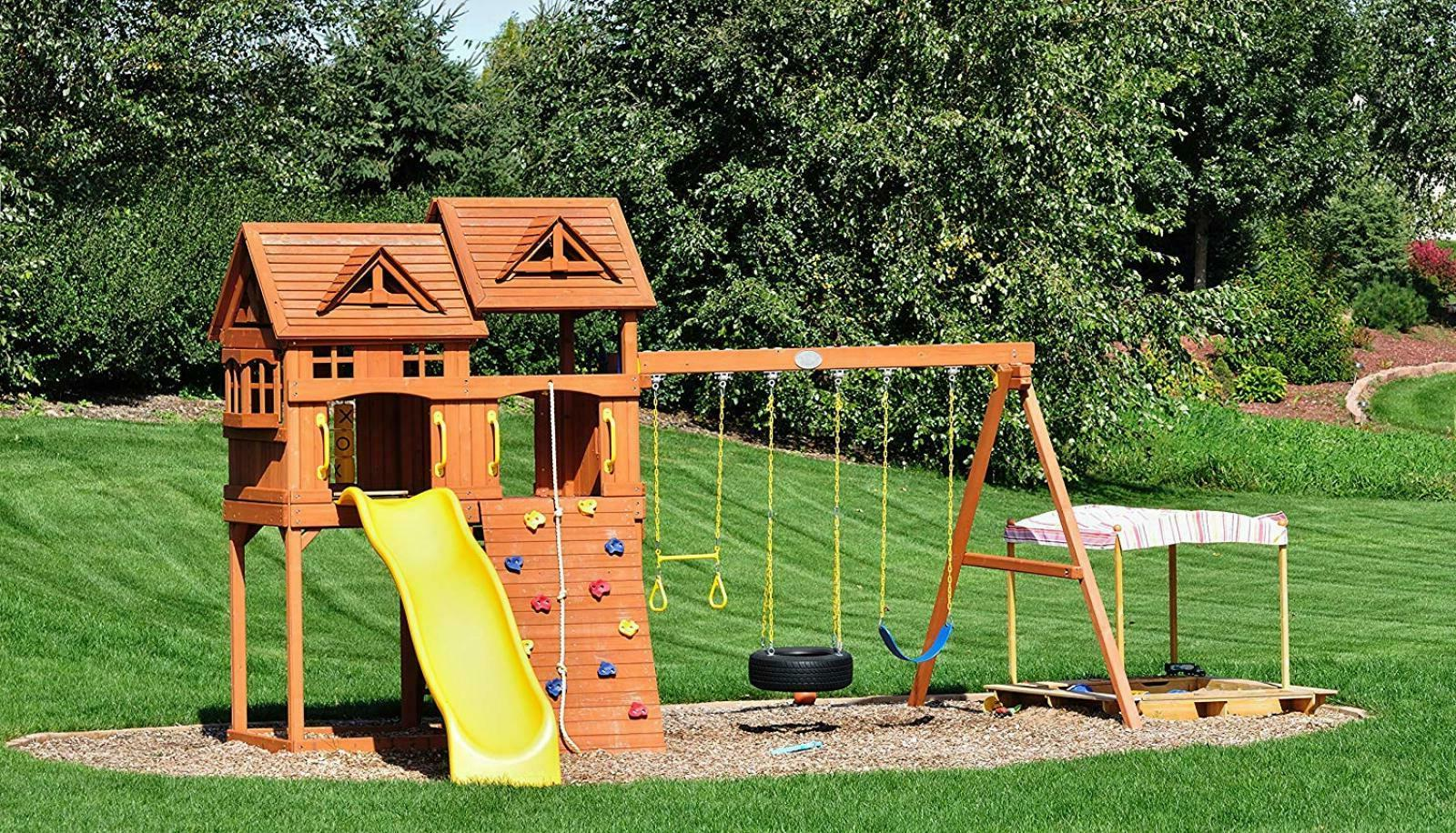 JGS 1800 Heavy Duty - Hanging Porch, Swingset,