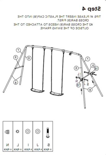 Swing Sets For Hardware Kit Outdoor Play Fun Playset
