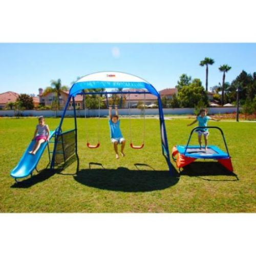 Kids Outdoor Includes Trampoline, and 250XL Fitness