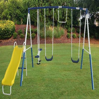 Kids Playground Set Outdoor Children Backyard