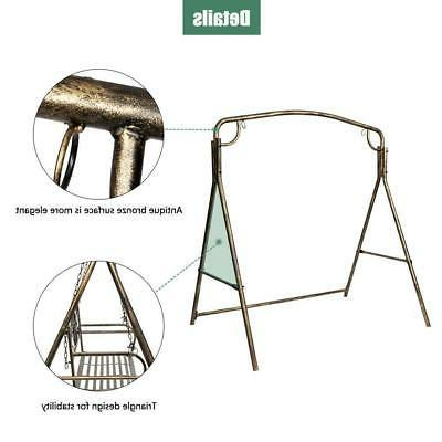 Metal Frame Stand & Adult Outdoor Yard