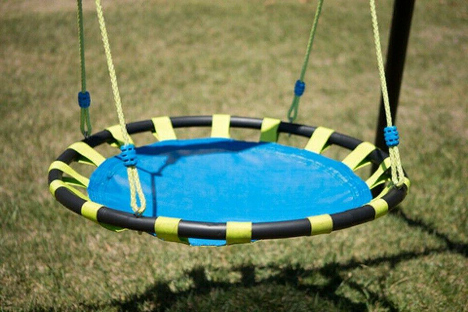Metal Swing Soccer,Basket Ball Glider,Saucer Swing,Trampoline,Slide