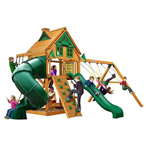 mountaineer treehouse swing set