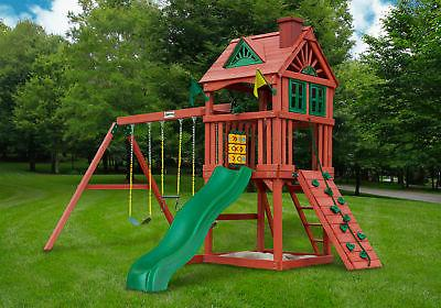 nantucket playground real cedar wooden