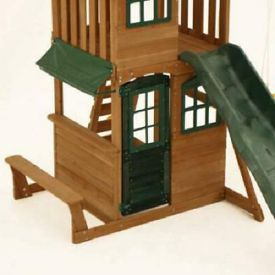 New Backyard Swing Cedar Outdoor Playground Playset