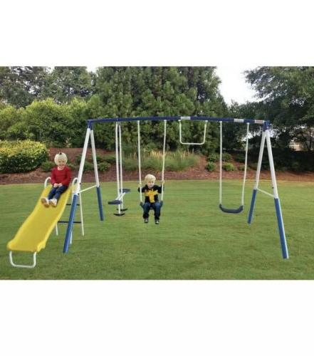 NEW Recreation Play All Day Set Trapeze Glider