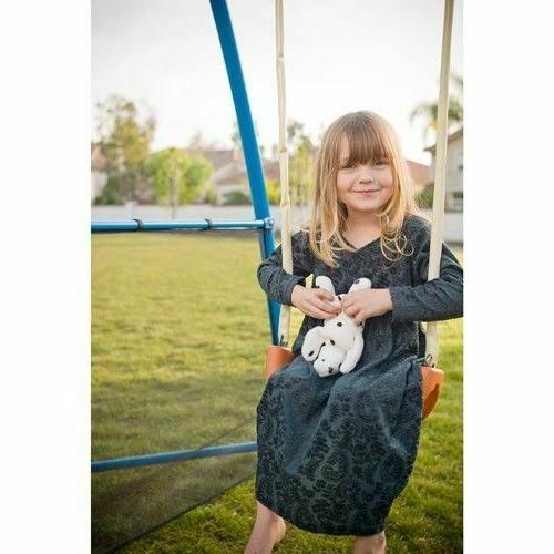 Outdoor Play Kids Swing For Backyard Playground Outside