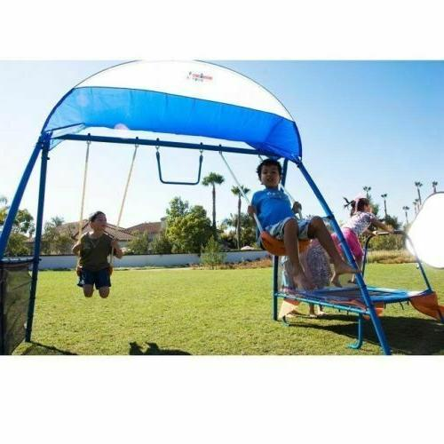 Outdoor Play Swing Playground Outside Slide