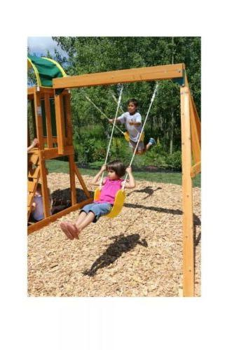 KidKraft Play Ready Assemble Swing And