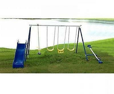 Swing Set Outdoor Swingset Kids