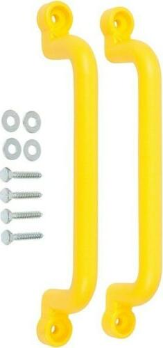 "13"" Playground Handles, Yellow with SSS logo Sticker"