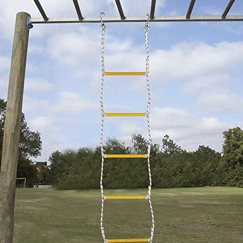 Xben 7.5ft with 2 Hooks Kids and Adults, Climbing Game for Accessories,Tree Set