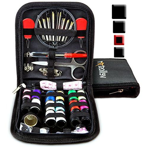 sewing kit equipped