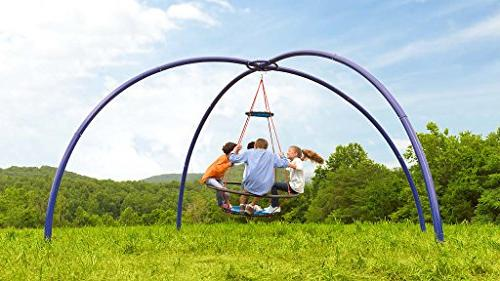 Sky Arched Includes Duty Ground Stakes - Playground Equipment for - 8' H x 17'
