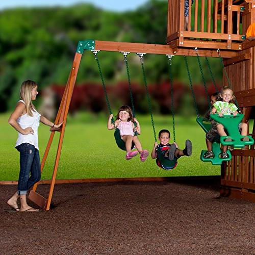 Backyard Discovery All Cedar Set