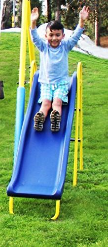 NEW and Toddler Metal Swing