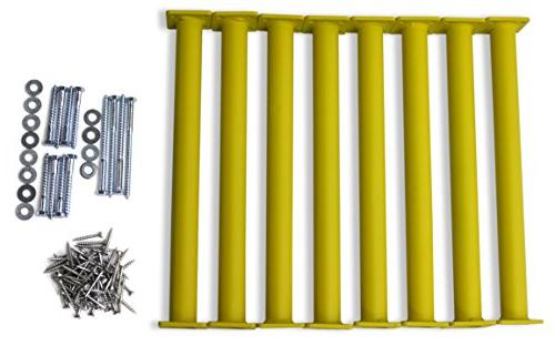 """Eastern Gym Steel 15-1/8"""" Bars Rungs Hardware with Hardware Instructions"""