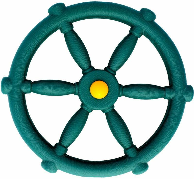 Steering Playset Attachment Accessory Toy Swing Green
