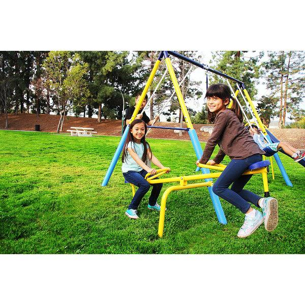 Super Give your the ultimate swing set with the