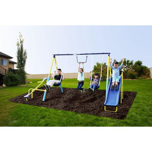 Give ultimate first swing set with