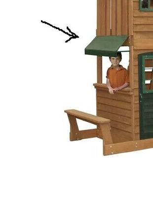 swing set accessory replacement cafe set only