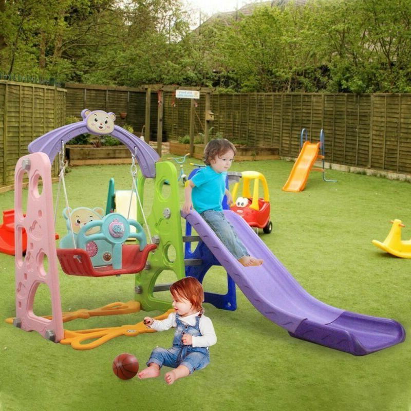 Toddler Mountaineering & Swing Sets Suitable For Indoor And