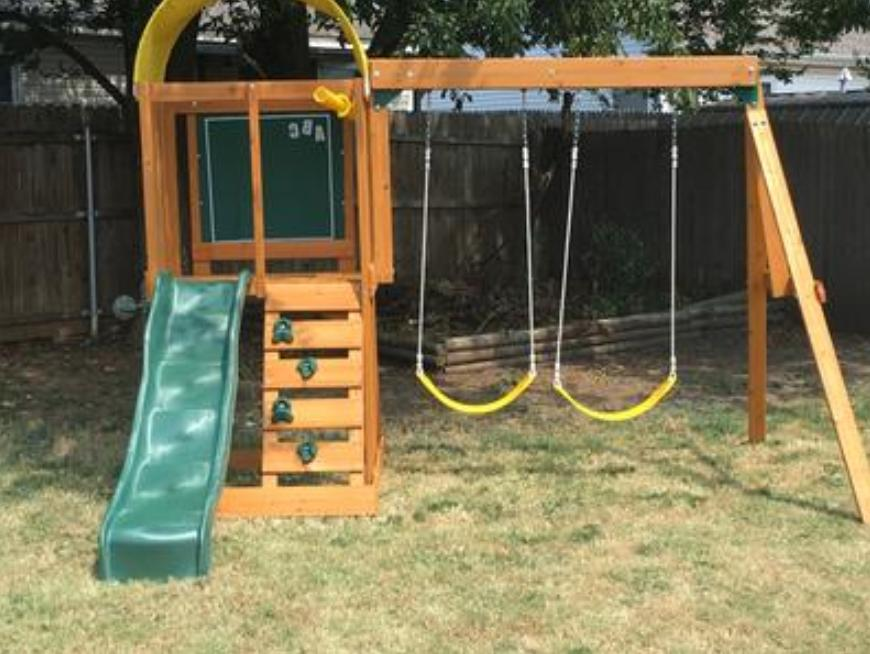 Swing PLAYGROUND Cedar Wooden Kids