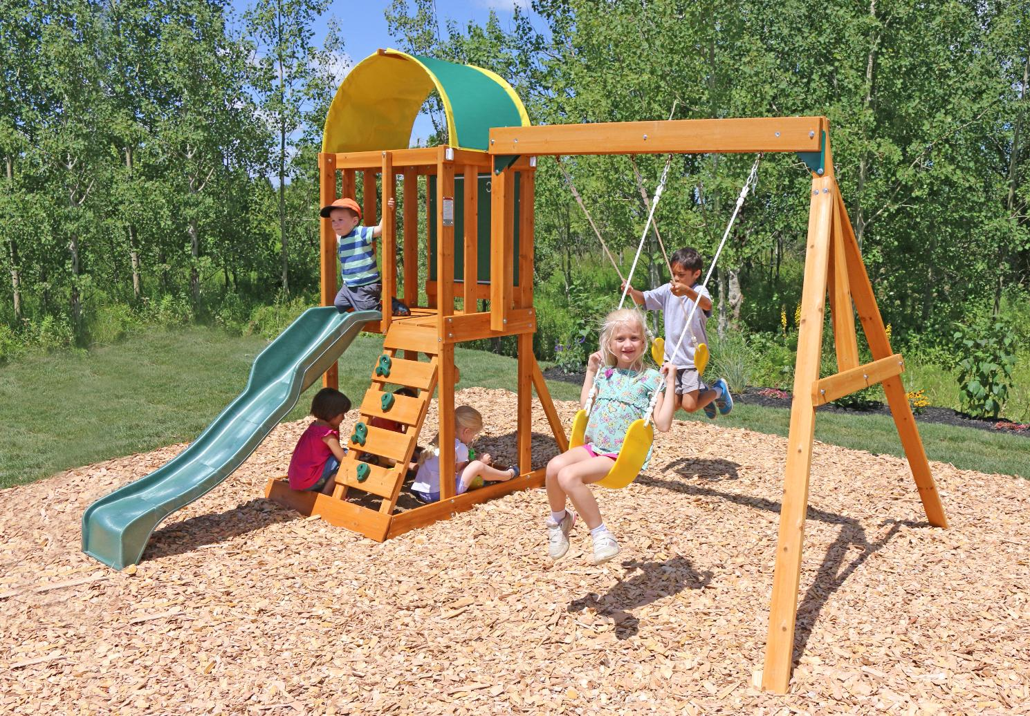 Swing Outdoor Wooden