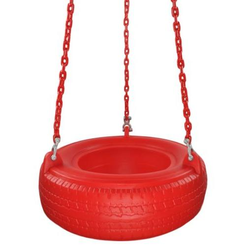 swing set stuff plastic tire with coated