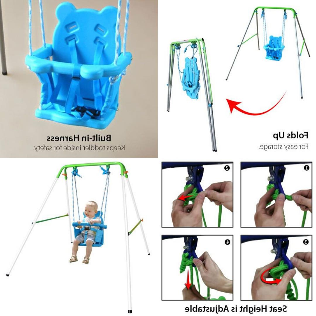 SWING SET Bucket Outdoor Kids