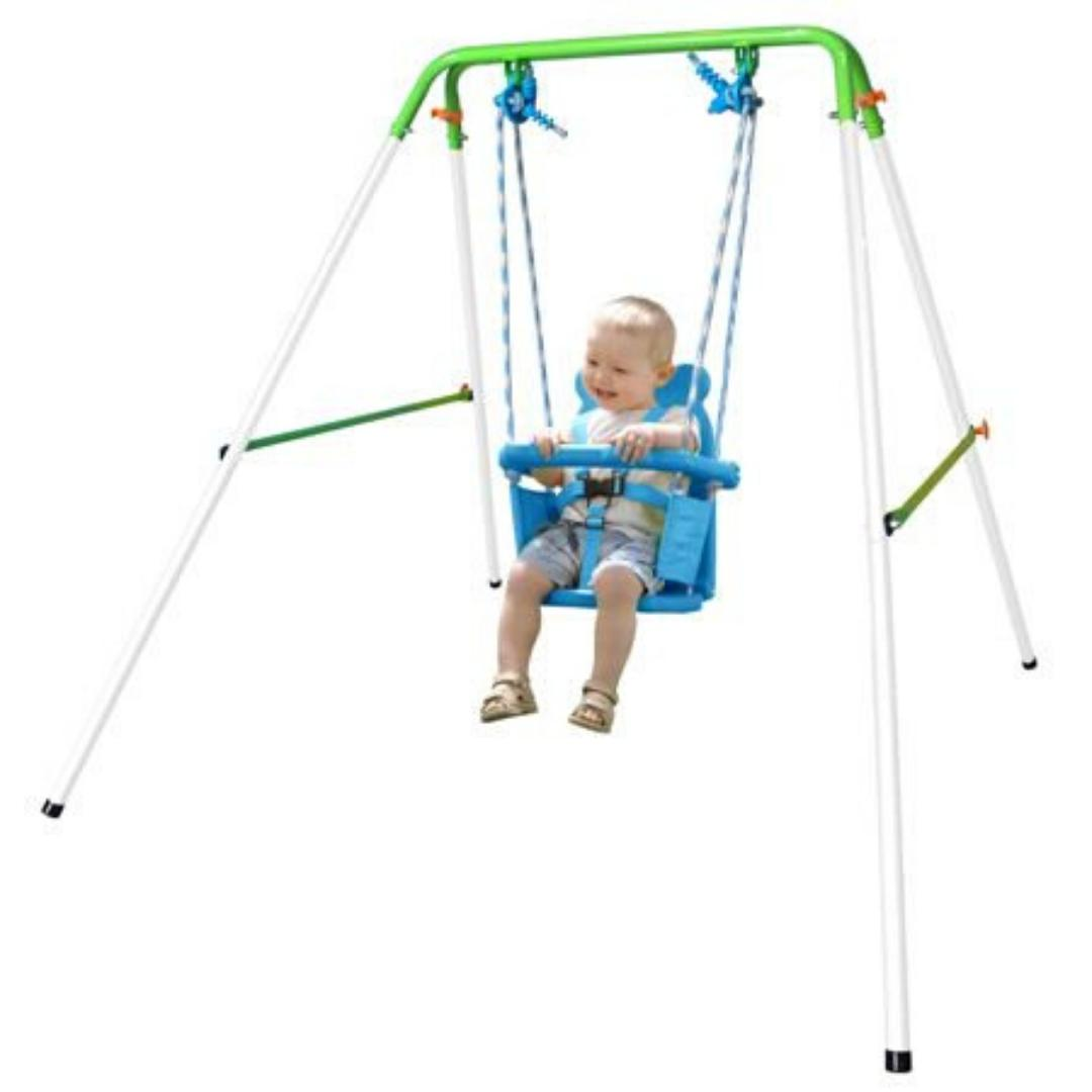 SWING TODDLER SET Seat Bucket Play Kids Indoor
