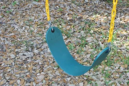 """Jungle Kingdom Pack Duty 66"""" Coated - Playground Swing Set Replacement Snap Hooks"""